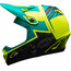Bell Transfer-9 Fullface Helmet matte retina sear/emerald
